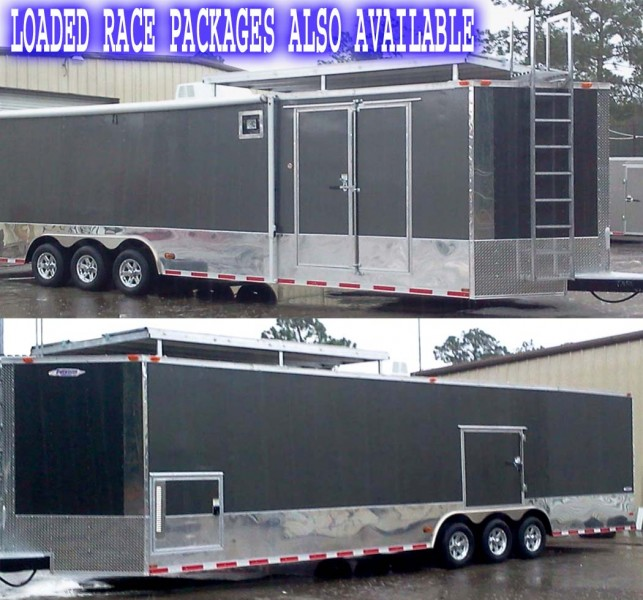 Freedom 34′ Two Vehicle Transport Trailer