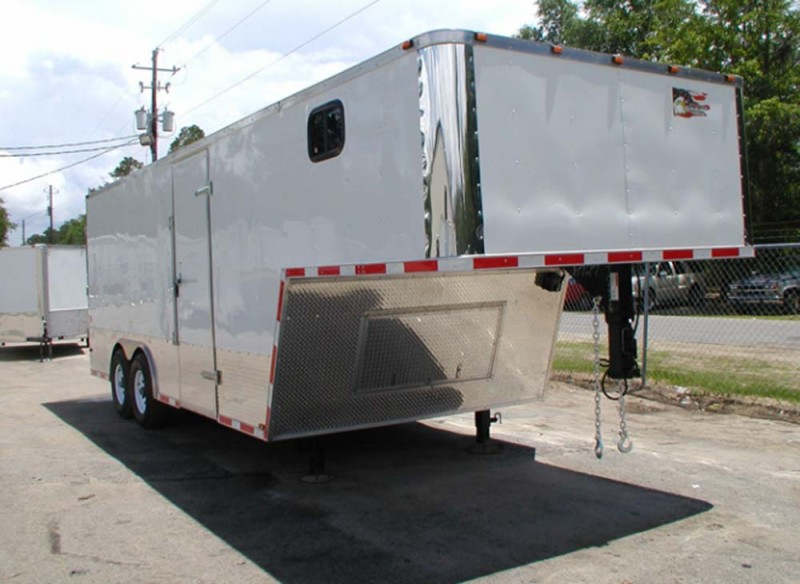 Freedom 28 Cargo Construction Trailer